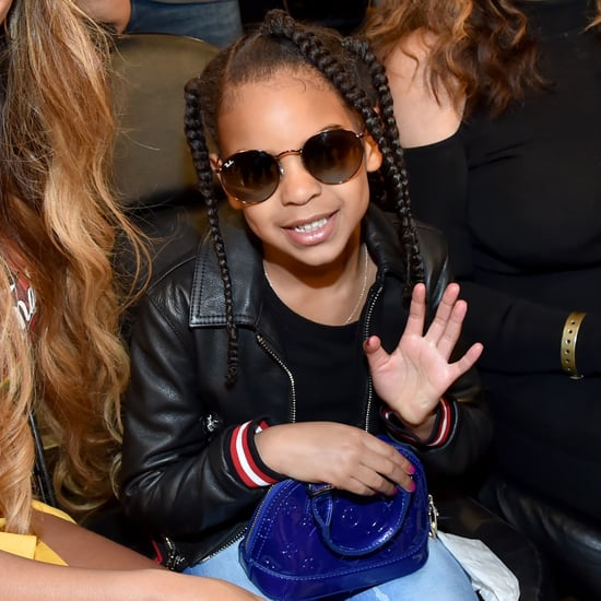 Blue Ivy Carter Bidding at 2018 Wearable Art Gala Auction