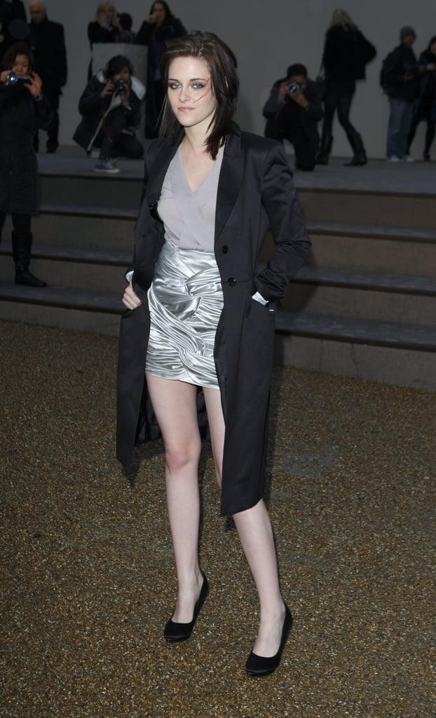 Photos of Kristen Stewart, Mary-Kate Olsen, Kate Hudson at Burberry for LFW