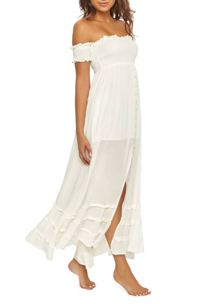 Pilyq Mishelle Off The Shoulder Cover Up Maxi Dress Best Beach Cover Ups 2019 Popsugar Fashion Uk Photo 13