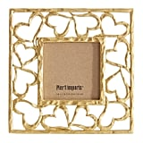 Gold Hearts Picture Frame