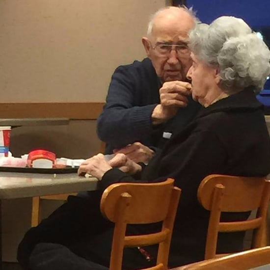 Elderly Couple Photo in Wendy's