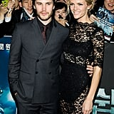 Brooklyn Decker and Taylor Kitsch together in Seoul.