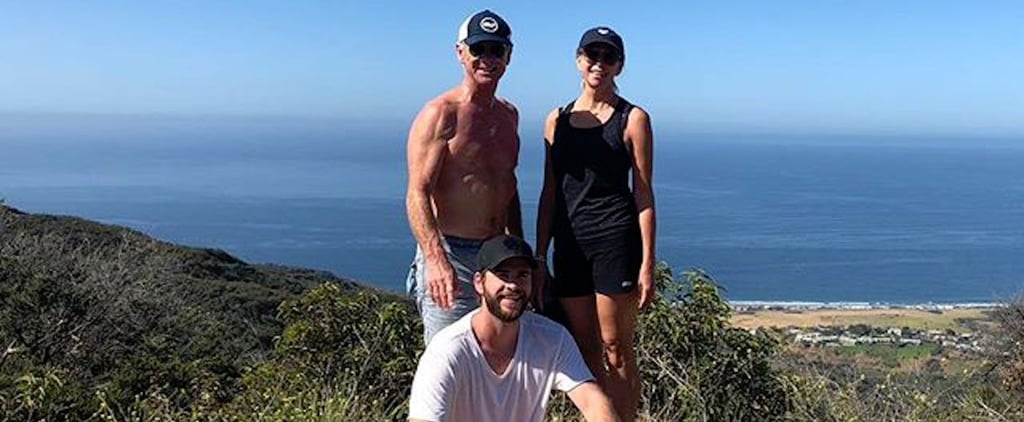 Liam Hemsworth's Instagram Photo With His Parents May 2018
