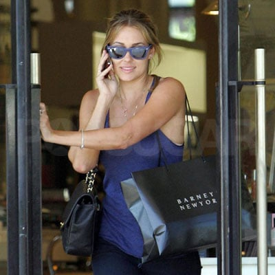 Lauren Conrad Shops at Barney's