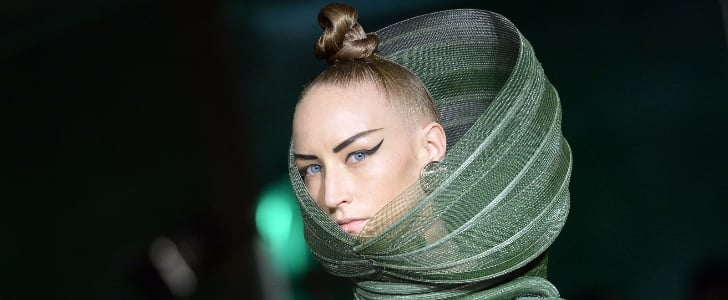 Fall '14 Paris Fashion Week Jean Paul Gaultier Runway Beauty