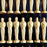 Gold-Dusted Chocolate Oscars