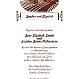 Vineyard Wedding Invitation