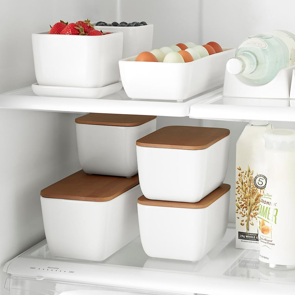 Marie Kondo Ceramic Fridge Bins