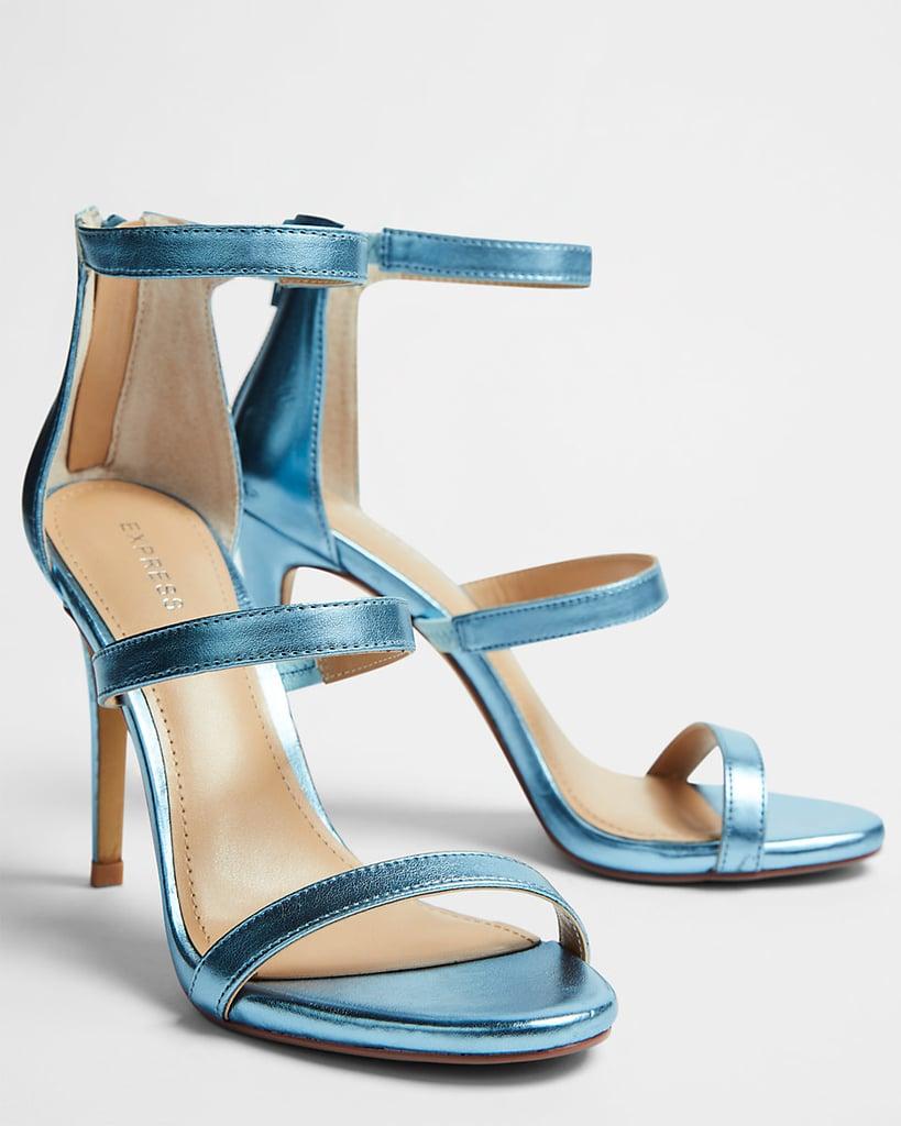 Our Pick: Express Metallic Heeled Sandals