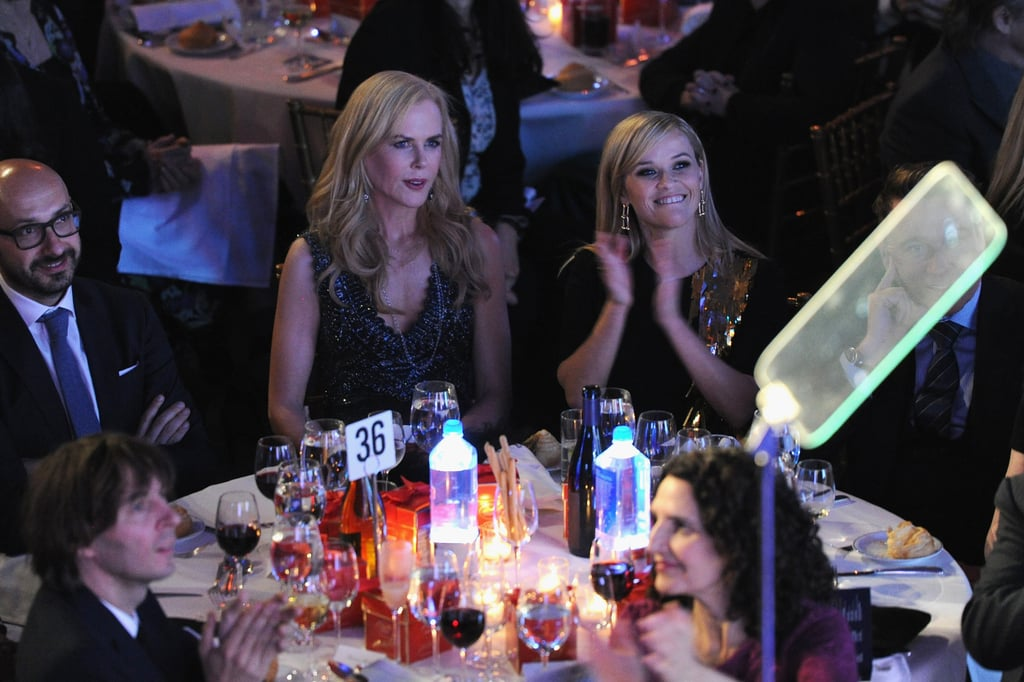 Nicole Kidman and Reese Witherspoon Are Thick as Thieves at the Gotham Awards