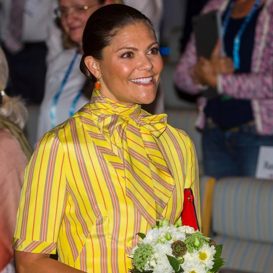 Princess Victoria Wearing Queen Silvia's Dress