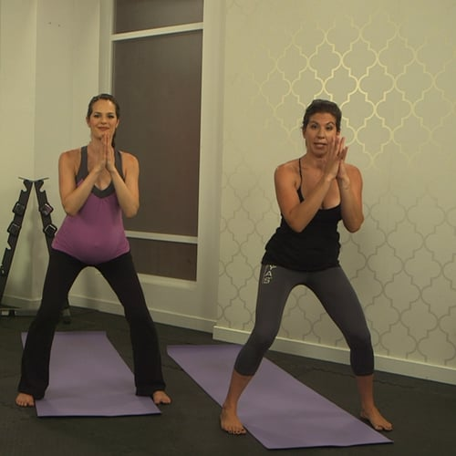 Easy 10-Minute Prenatal Yoga Sequence (VIDEO)