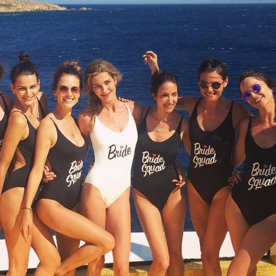 Alessandra Ambrosio's Bride Squad One-Piece Bathing Suit