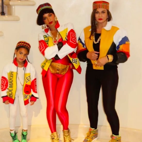 Beyonce's Salt-N-Pepa Halloween Costume 2016