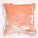 Anke Drechsel Silk Velvet Fringe Pillow