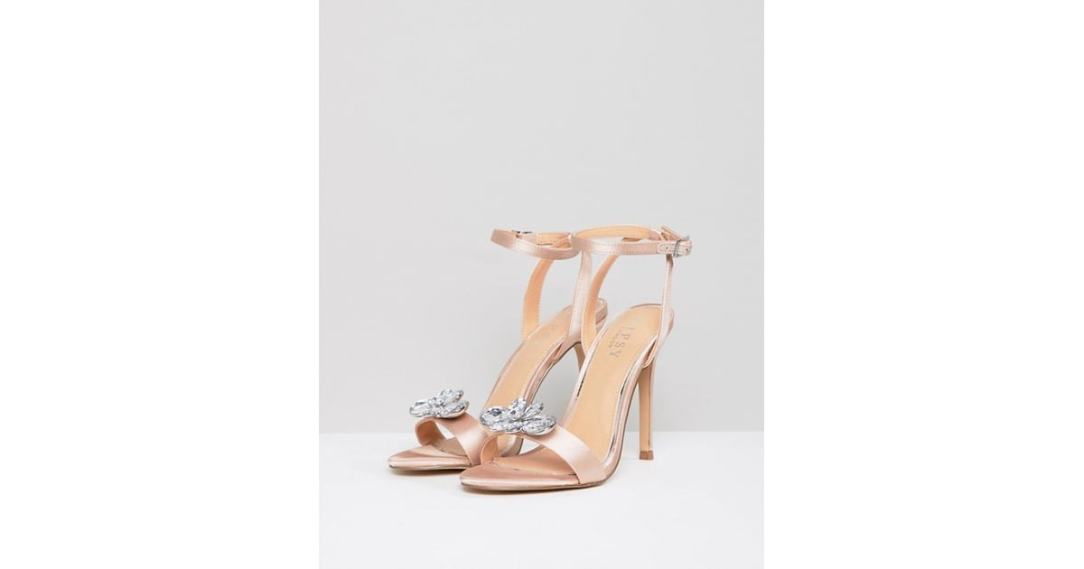 113bbc4f73 Lipsy Barely There Heeled Sandal With Embellishment   How to Wear a ...