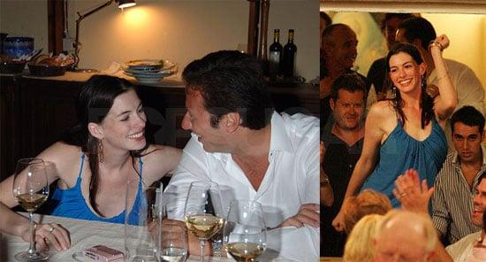 Anne Hathaway Karaokes in Capri!