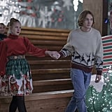 Sofia Vassilieva as Lara Buterskaya and Charlie Plummer as Miles Halter in Looking For Alaska