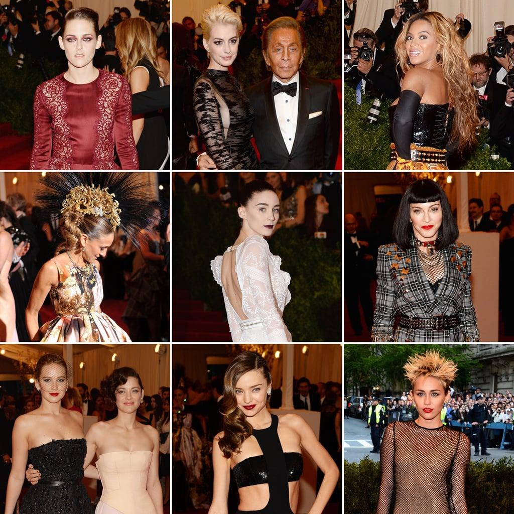 2013 Met Gala Red Carpet Celebrity Pictures