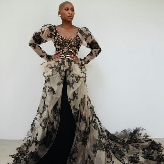 Cynthia Erivo's Custom Vera Wang Gown at the Critics' Choice