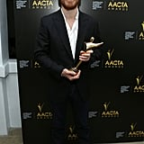 Michael Fassbender won the award for best supporting actor.