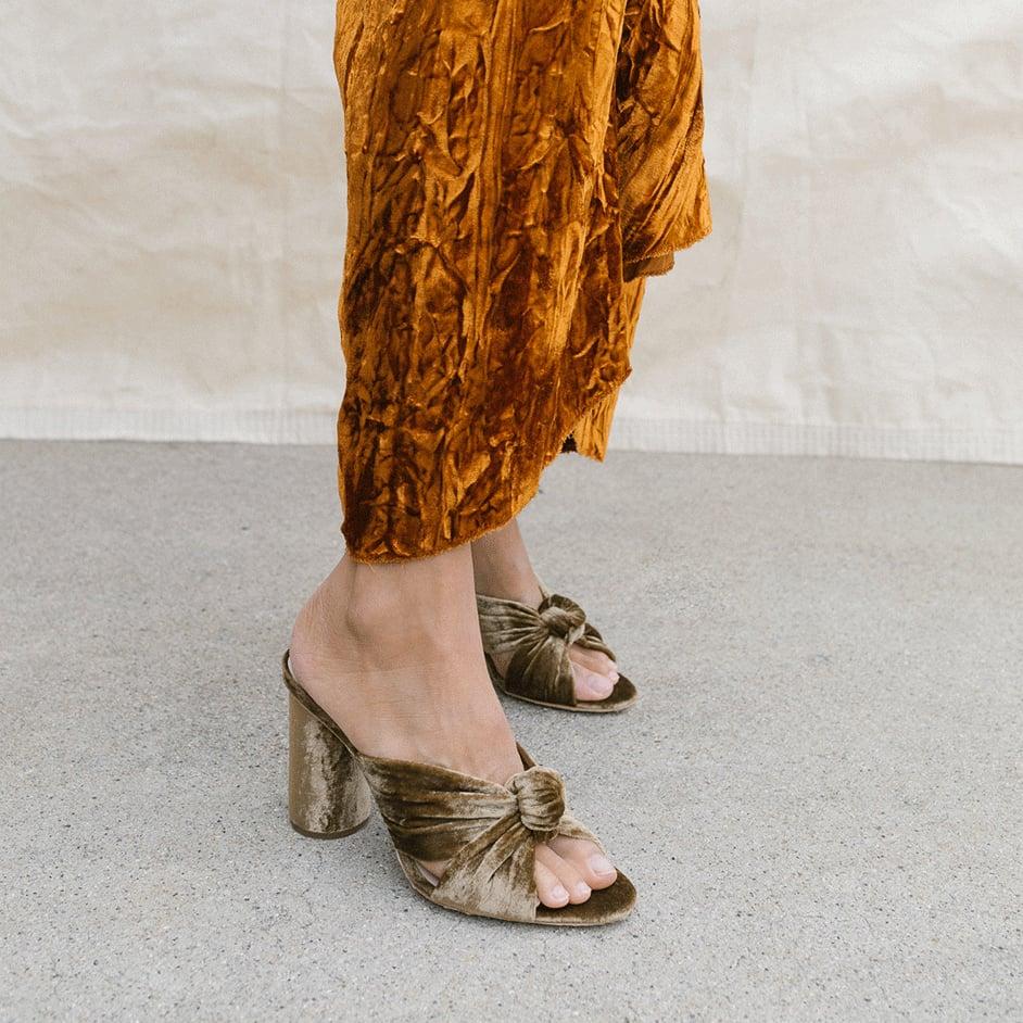 Loeffler Randall Coco High Heel Knot Slides | Loeffler