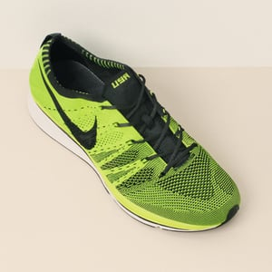 Neon Green Nike 2012 Olympics FlyKnit Trainer Shoes