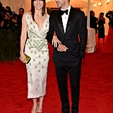 Justin Timberlake and Jessica Biel hit the red carpet in their first public appearance since becoming engaged.