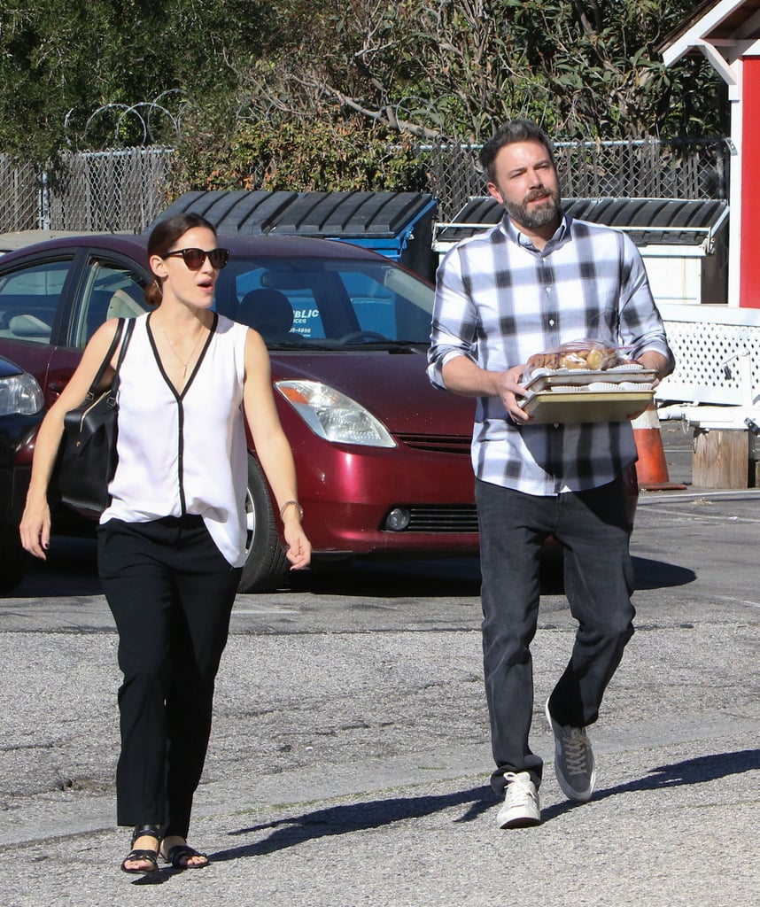 Nov. 13, 2016: Ben carried treats on their way to church.