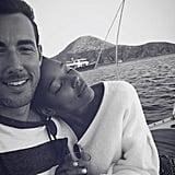Kylie Bunbury and Jon-Ryan Alan Riggins