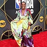 Issa Rae at the NBA Awards