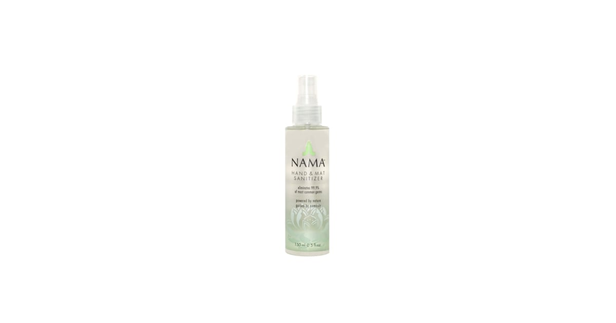 Nama Yoga Mat Sanitizer Spray Popsugar Fitness