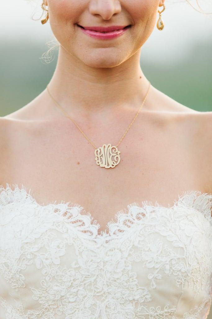 18. Monogram Necklace