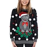 Santa Claws Wreath Sweater
