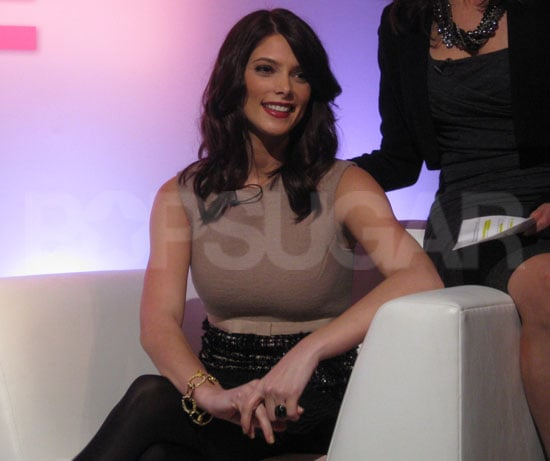 Ashley Greene at Mark Cosmetics Event