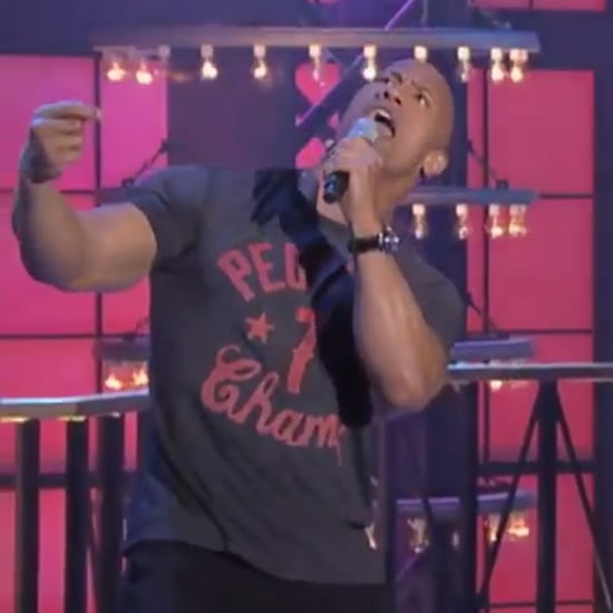 The Rock Singing Taylor Swift Jimmy Fallon Lip-Sync Battle
