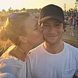 Karlie Kloss Gave Joshua Kushner a Sunset Smooch