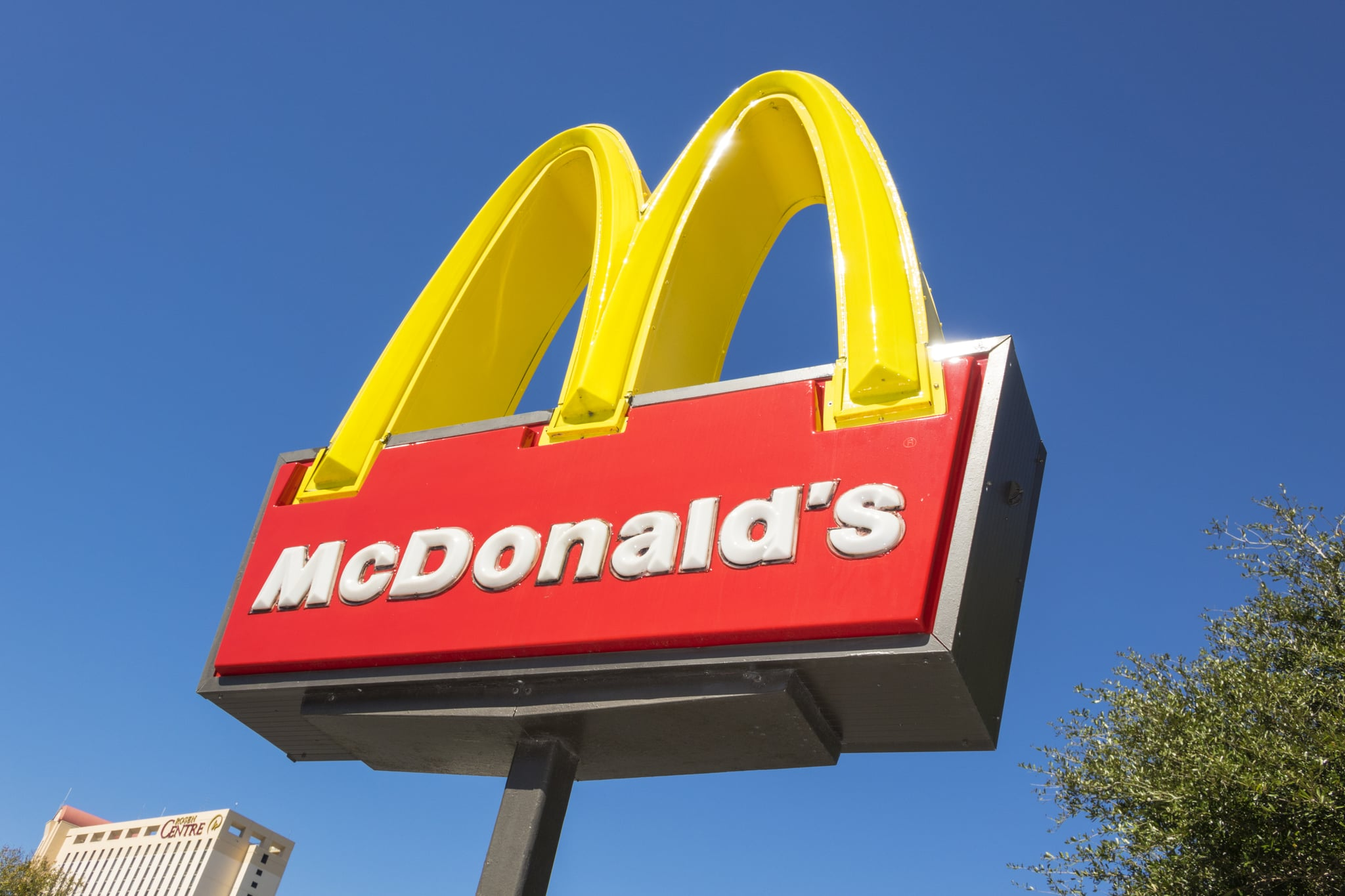 McDonald's sign in Orlando. (Photo by: Jeffrey Greenberg/Universal Images Group via Getty Images)