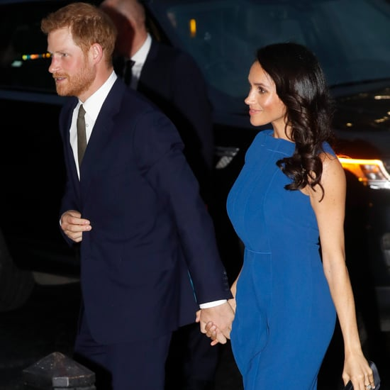 Meghan Markle Blue Jason Wu Dress September 2018