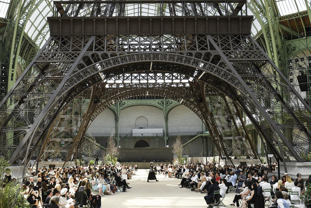 Karl Lagerfeld Transformed The Grand Palais Into The