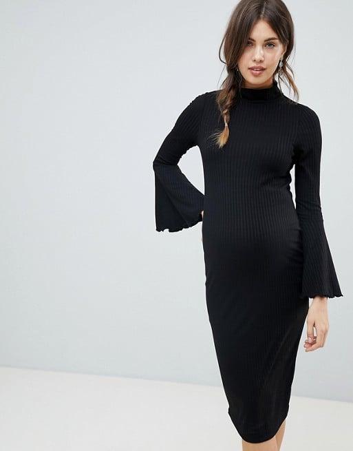 Black Tie Maternity Dresses Popsugar Family