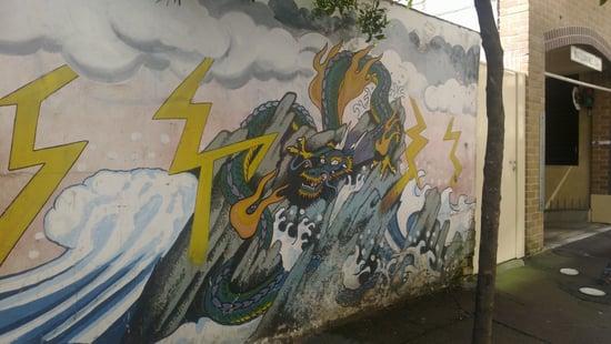 Dragon Street Art