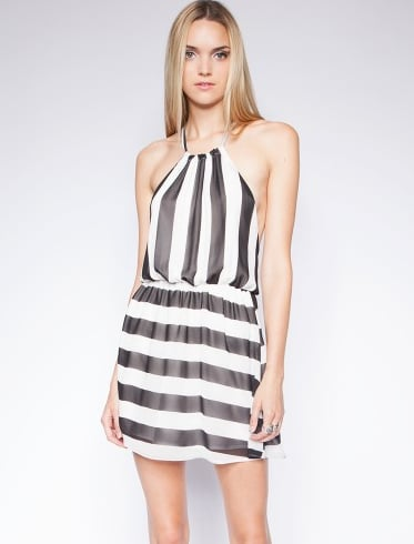 The stripes on this little Pixie Market Cannes dress ($35) couldn't be more perfect for Summer.