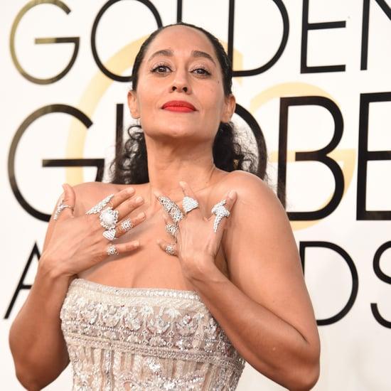 Tracee Ellis Ross's Rings at the Golden Globe Awards 2017