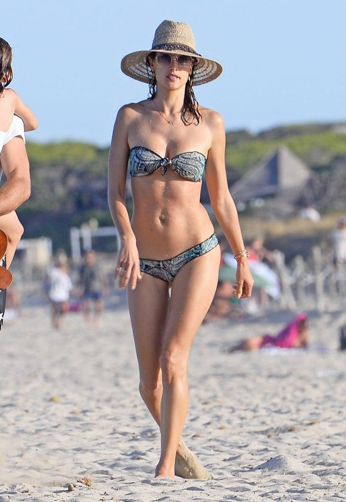 Alessandra Ambrosio Bikini Pictures July 2016