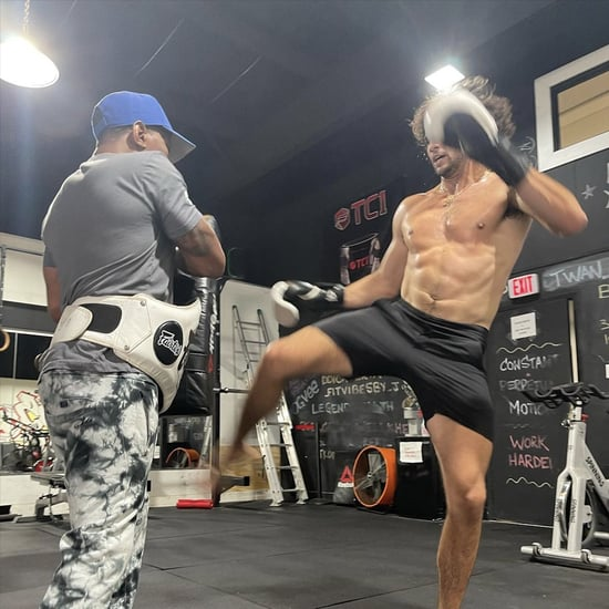 Noah Centineo Training For Black Adam Workout Videos