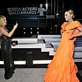 Reese Witherspoon and Kathryn Newton at the 2020 SAG Awards