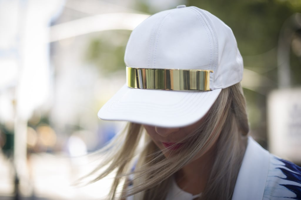 Metallic detail made this cap so much cooler.