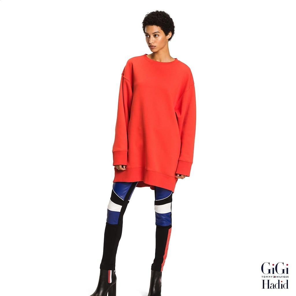 3e49a498c0f4c2 Gigi Hadid Sweatshirt Dress ( 180)