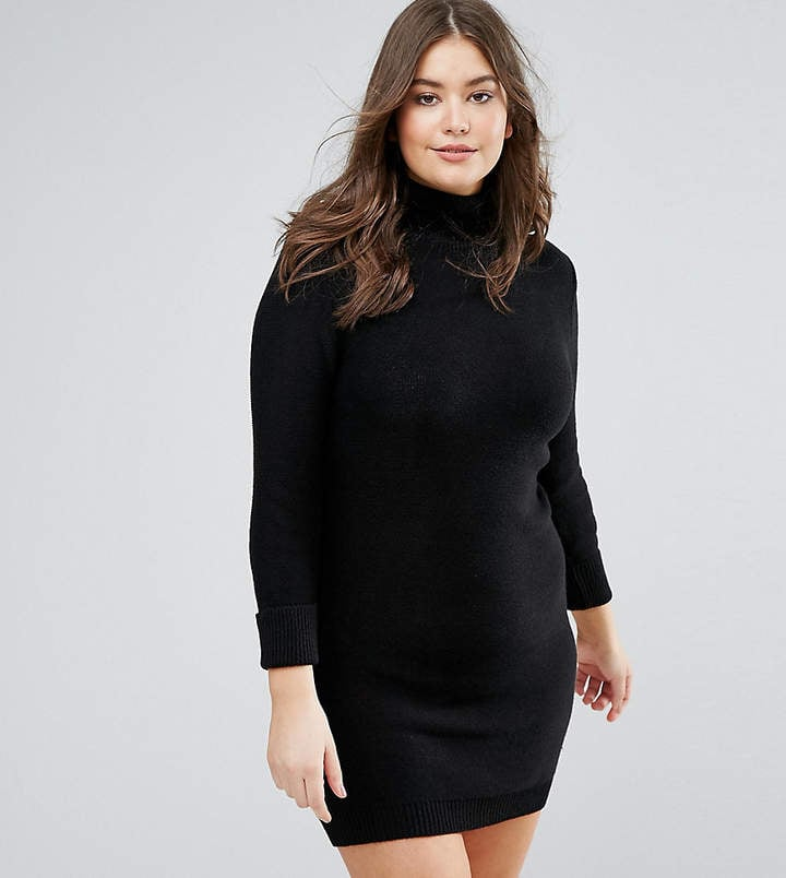 Brave Soul Plus Turtleneck Sweater Dress ($29)